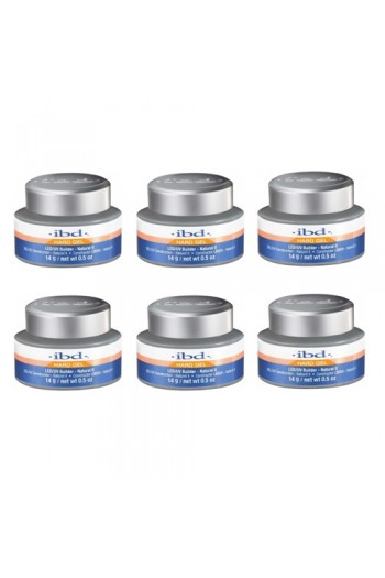 ibd LED/UV Builder Gel - Natural II - 6 pack - 0.5oz / 14g each