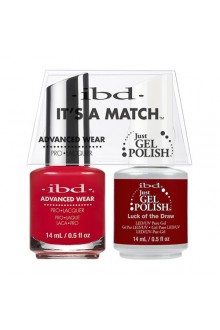 "ibd Advanced Wear - ""It's A Match"" Duo Pack - Luck of the Draw - 14ml / 0.5oz Each"