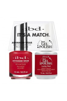 "ibd Advanced Wear - ""It's A Match"" Duo Pack - Lucky Red - 14ml / 0.5oz Each"