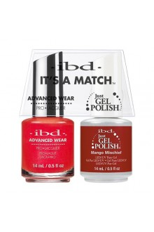 "ibd Advanced Wear - ""It's A Match"" Duo Pack - Mango Mischief - 14ml / 0.5oz Each"