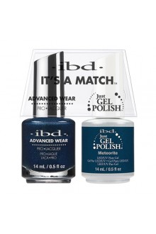 "ibd Advanced Wear - ""It's A Match"" Duo Pack - Meteorite - 14ml / 0.5oz Each"