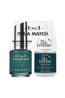 "ibd Advanced Wear - ""It's A Match"" Duo Pack - Metro Pose - 14ml / 0.5oz Each"