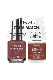"ibd Advanced Wear - ""It's A Match"" Duo Pack - Mocha Pink - 14ml / 0.5oz Each"