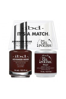"ibd Advanced Wear - ""It's A Match"" Duo Pack - Mogul - 14ml / 0.5oz Each"