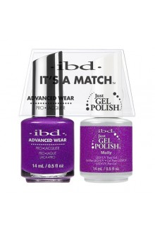 "ibd Advanced Wear - ""It's A Match"" Duo Pack - Molly - 14ml / 0.5oz Each"