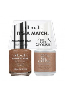 "ibd Advanced Wear - ""It's A Match"" Duo Pack - Morrocan Spice - 14ml / 0.5oz Each"