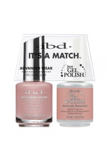 "ibd Advanced Wear - ""It's A Match"" Duo Pack - Naturally Beautiful - 14ml / 0.5oz Each"