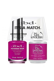 "ibd Advanced Wear - ""It's A Match"" Duo Pack - Peony Bouquet - 14ml / 0.5oz Each"