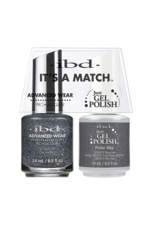 "ibd Advanced Wear - ""It's A Match"" Duo Pack - Polar Sky - 14ml / 0.5oz Each"