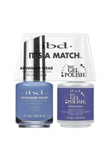 "ibd Advanced Wear - ""It's A Match"" Duo Pack - Raindrops - 14ml / 0.5oz Each"