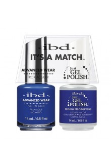 "ibd Advanced Wear - ""It's A Match"" Duo Pack - Riviera Rendezvous - 14ml / 0.5oz Each"