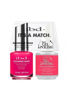 "ibd Advanced Wear - ""It's A Match"" Duo Pack - Rose Lite District - 14ml / 0.5oz Each"