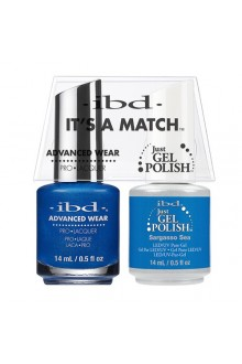 "ibd Advanced Wear - ""It's A Match"" Duo Pack - Sargasso Sea - 14ml / 0.5oz Each"