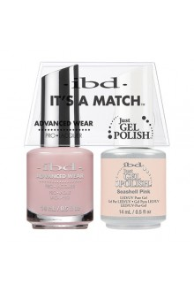"ibd Advanced Wear - ""It's A Match"" Duo Pack - Seashell Pink - 14ml / 0.5oz Each"