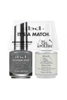 "ibd Advanced Wear - ""It's A Match"" Duo Pack - Silver Lites - 14ml / 0.5oz Each"