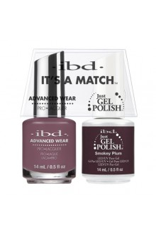 "ibd Advanced Wear - ""It's A Match"" Duo Pack - Smokey Plum - 14ml / 0.5oz Each"