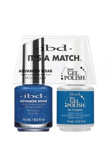 "ibd Advanced Wear - ""It's A Match"" Duo Pack - So Cryptic - 14ml / 0.5oz Each"