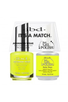 "ibd Advanced Wear - ""It's A Match"" Duo Pack - Solar Rays - 14ml / 0.5oz Each"