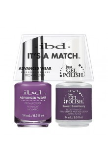 "ibd Advanced Wear - ""It's A Match"" Duo Pack - Sweet Sanctuary - 14ml / 0.5oz Each"