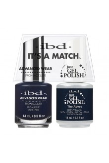 "ibd Advanced Wear - ""It's A Match"" Duo Pack - The Abyss - 14ml / 0.5oz Each"