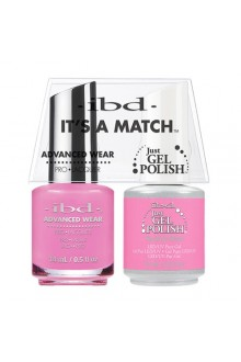 "ibd Advanced Wear - ""It's A Match"" Duo Pack - Tickled Pink - 14ml / 0.5oz Each"