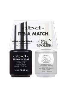 "ibd Advanced Wear - ""It's A Match"" Duo Pack - Top Coat - 14ml / 0.5oz Each"