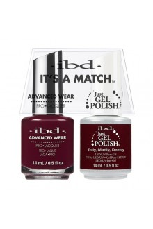 "ibd Advanced Wear - ""It's A Match"" Duo Pack - Truly, Madly, Deeply - 14ml / 0.5oz Each"