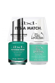 "ibd Advanced Wear - ""It's A Match"" Duo Pack - Turtle Bay - 14ml / 0.5oz Each"