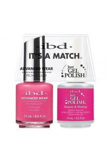 "ibd Advanced Wear - ""It's A Match"" Duo Pack - Vespas & Siestas - 14ml / 0.5oz Each"