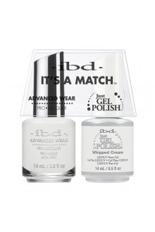"ibd Advanced Wear - ""It's A Match"" Duo Pack - Whipped Cream - 14ml / 0.5oz Each"