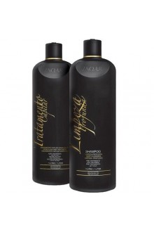 Inoar - Brazillian Keratin Shampoo & Moroccan Hair Treatment Kit - 1L / 33.8oz each