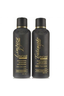 Inoar - Brazillian Keratin Shampoo & Moroccan Hair Treatment Kit - 8.4oz / 250ml each