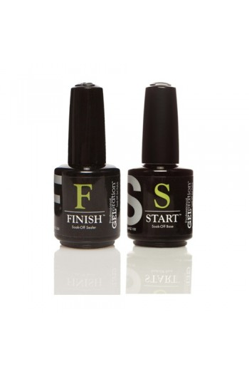 Jessica GELeration -  START Soak Off Base & FINISH Soak-Off Sealer - 0.5oz / 15ml each