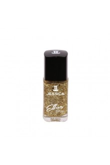 Jessica Effects Glitzy Glitter Nail Polish - Go For The Gold Collection - Gold Digger - 0.4oz / 12ml