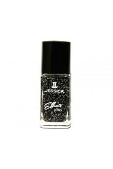 Jessica Effects Glitzy Glitter Nail Polish - Bling in Black - 0.4oz / 12ml