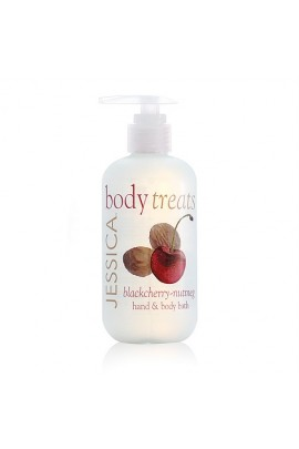 Jessica Body Treats Hand & Body Bath - Blackcherry-Nutmeg - 8.3oz / 245ml