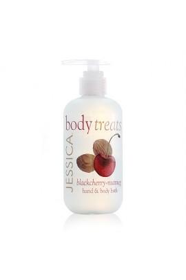 Jessica Body Treats Hand & Body Bath - Blackcherry-Nutmeg - 8.3oz / 245ml