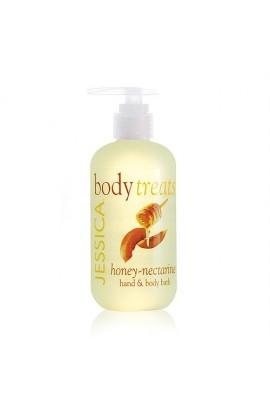 Jessica Body Treats Hand & Body Bath - Honey-Nectarine - 8.3oz / 245ml