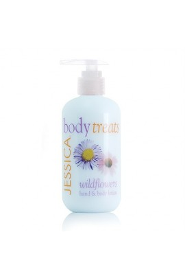 Jessica Body Treats Hand & Body Lotion - Wildflowers - 8.3oz / 245ml