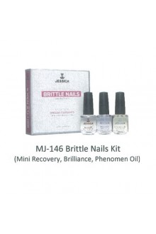 Jessica Nail Solution - Brittle Nails Treatment Kit