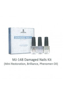 Jessica Nail Solution - Damaged Nails Treatment Kit