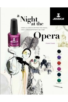 Jessica Nail Polish - Fall 2013 A Night At The Opera Collection - 0.5oz / 14.8ml - All 6 Colors