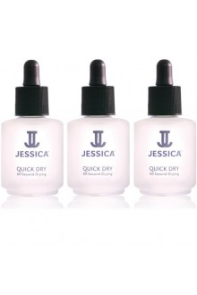 Jessica Treatment - Quick Dry - 0.25oz / 7.4ml Each - 3pk