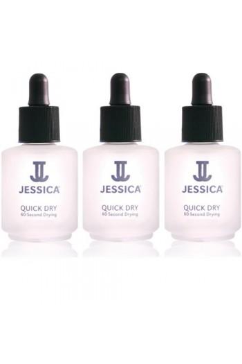 Jessica Treatment - Quick Dry - 0.25oz / 7.4ml Each - 3pk