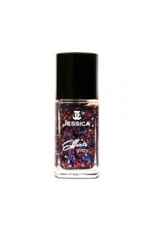 Jessica Effects Glitzy Glitter Nail Polish - Star Spangles - 0.4oz / 12ml