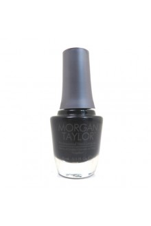 Morgan Taylor Nail Lacquer - Little Black Dress - 0.5oz / 15ml