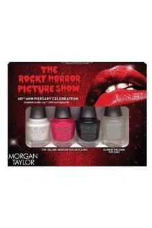 Morgan Taylor Nail Laquer - The Rocky Horror Picture Show Collection - Mini 4pk - 5ml / 0.17oz Each