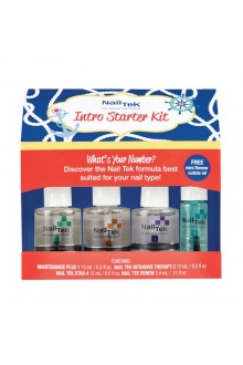 Nail Tek Nail Intro Starter Kit - 15ml / 0.5oz Each