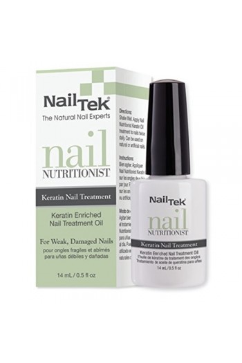 Nail Tek - Nutritionist Keratin Nail Treatment - 0.5oz / 14ml