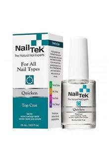 Nail Tek Quicken Top Coat - 0.5oz / 15ml